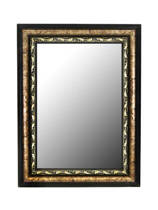 332701 Reflections 28 X 64 Constantine Silver Scroll Black Trim Wall