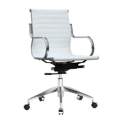 FMI10226-white Twist Office Chair Mid Back