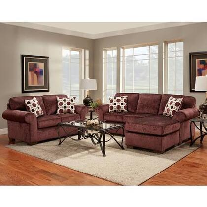 5300PRISMELDERBERRY-SET-GG Exceptional Designs Living Room Set in Prism Elderberry