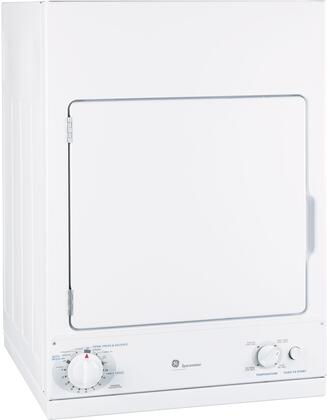 DSKS433EBWW Spacemaker 24 Electric Dryer With Four Heat Selections  3 Cycles  Auto Dry Feature  Three Dry Cycles & 3.6 cu. ft. Capacity  in