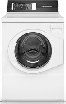 "FR7001WN 27"" Front Load Washer with 3.42 cu. ft. Capacity  9 Cycles  0.9 HP Motor Size  1200 RPM Spin Speed  in"