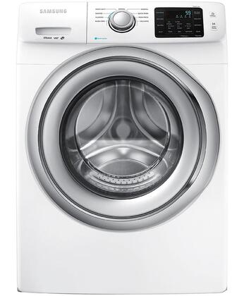 "WF42H5200AW 27"" Wide 4.2 cu. ft. Energy Star Rated Front Load Washer with 1200 RPM"