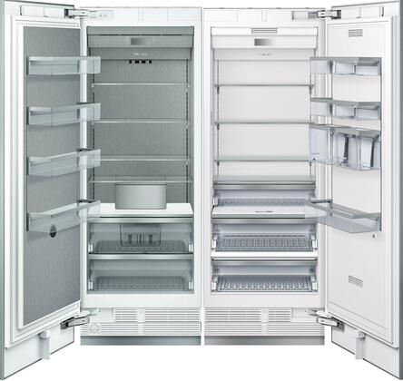 60 inch  Side-by-Side with T30IR900SP 30 inch  16.8 cu. ft. Capacity Refrigerator Column and T30IF900SP 30 inch  15.8 cu. ft. Capacity Freezer