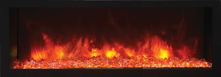 Remii 102755-DE 55 DEEP Indoor or Outdoor Electric Fireplace