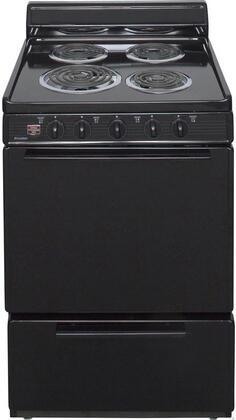 Premier 3.0 Cu. Ft. Freestanding Electric Range Black Eck100bp