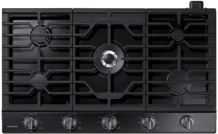 Samsung NA36N6555TG 36 Black Stainless 5 Burner Gas Cooktop