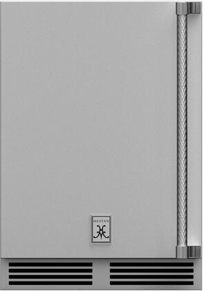 "GRSL24 24"" Outdoor Refrigerator with Left Hinge Solid Door and"