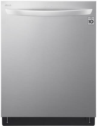 "LG 24"" Top Control Built-In Dishwasher with Stainless Steel Tub Stainless steel LDT7808ST"