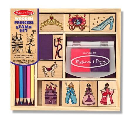 2418 Wooden Princess Stamp