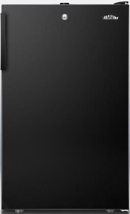 FF521BLBIADA 20 inch  FF521BLBIADA Series ADA Compliant Medical Freestanding or Built In Compact Refrigerator with 4.1 cu. ft. Capacity  Adjustable Glass Shelves