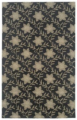 Couct091200060810 Country Ct0912-8 X 10 Hand-tufted New Zealand Wool Blend Rug In Black  Rectangle