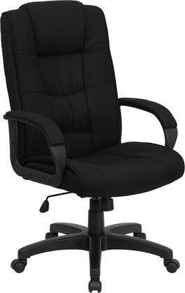 GO-5301B-BK-GG High Back Black Fabric Executive Office