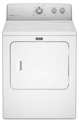 "MGDC215EW 29"""" Front Load Gas Dryer with 7.0 Cu. Ft. Extra Large Capacity  AutoDry  Heavy Duty Motor  Wrinkle Control Option  15 Drying Cycles  Commercial"" 445679"