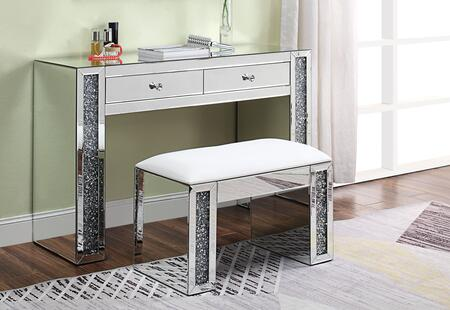 Noralie Collection 90465DS 2 PC Vanity Set iwth 47