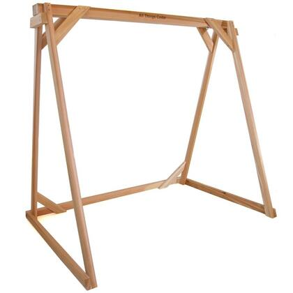 Af90 92 Swing A-frame With Western Red Cedar Construction  Mounting Hardware And 600 Lbs. Weight