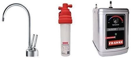LB8200-100-3HT Faucet Set with LB8200 Hot & Cold Filtered Water Dispenser  FRCNSTR100 Filter Canister and HT300 Little Butler Heating