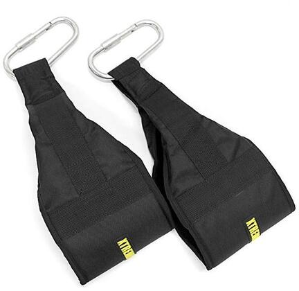 XM-3811 Pair of Commercial Ab Slings with Heavy Duty Cordura Nylon  Steel Carabiners and High Density Foam in