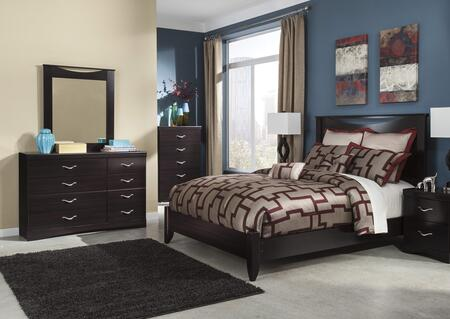 Zanbury King Bedroom Set With Panel Bed  Dresser And Mirror In