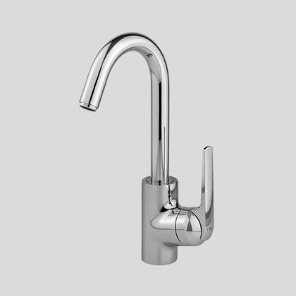 10.061.991.127 Single-hole  single side-lever bar mixer with arched swivel spout in Splendure Stainless