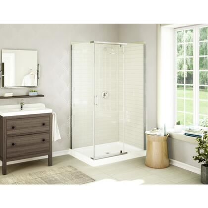 Acro48x36 48 inch  x 36 inch  Rectangular Corner Shower