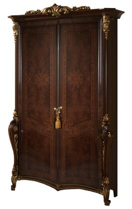 Donatello_DONATELLO2DOORWB_Wardrobe_with_2_Doors__Carved_Detailing_and_Molding_Details_in_Walnut