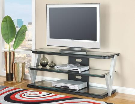 91034 Bardrick 58 inch  TV Stand with Glass Top and