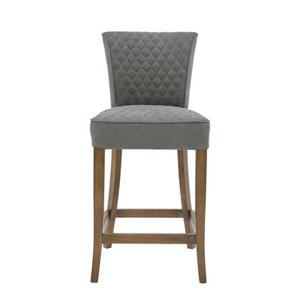 DS-D192-500B-502 Quilted Counter Stool