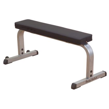 GFB350 Body Solid Heavy-Duty Flat Bench with Heavy-Gauge Steel Mainframe and Wide