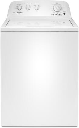 """WTW4616FW 28"""""""" Top Load Washer with 3.5 cu. ft. Capacity  Deep Water Wash Option  11 Wash Cycles  700 RPM Spin Speed  Dual Action Spiral Agitator  White"""" 690675"""