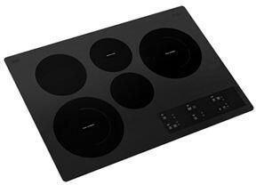 Whirlpool WCE97US0HB 30 Black 5 Burner Electric Cooktop
