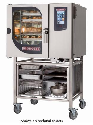 BLCT61G Single Gas Boilerless Combination-Oven Steamer with Touchscreen Control  Multiple modes  Self cleaning system. Capacity: 5 North American hotel