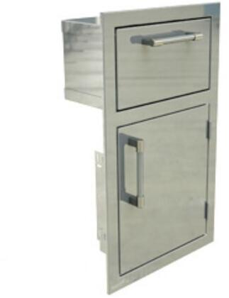 AXEDTHR 17 inch  Towel Holder with Door Open