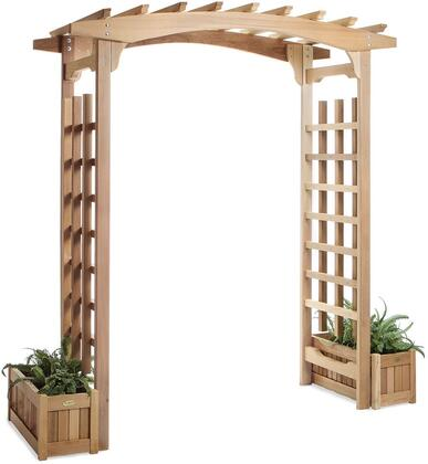 PA96-Set Pagoda w/ Planter