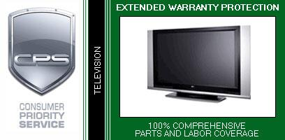 5 Year Television and Monitor Carry-In Warranty Under