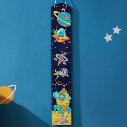 TD12224A Outer Space Hand Painted Kids Wooden Growth