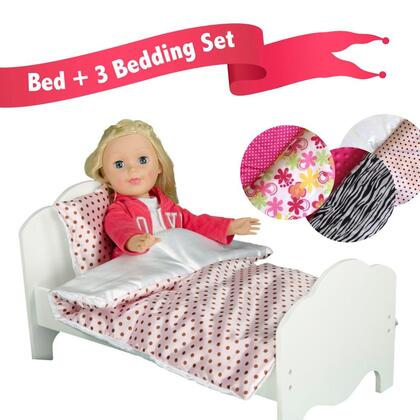 Click here for TD-11929-3A Teamson Kids - Little Princess 18 Doll... prices
