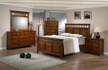 Tremont Collection SS-TR900-Q-BED-SET 5 Piece Queen Bedroom Set with Bed + Dresser + Mirror + Chest +
