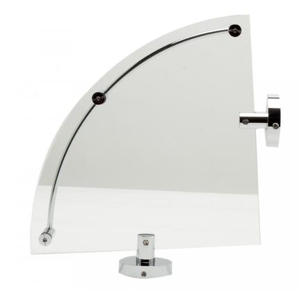 Click here for AB9546 Polished Chrome Corner Mounted Glass Shower... prices