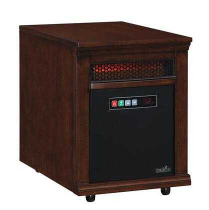 10HM2274-E444 Infrared Quartz 10HM Portable Heater with 4.371 Cu. Ft. 5200 BTUs Per Hour Remote Control Thermostat Solid Hardwoods and Real Wood Veneer in