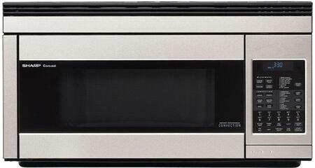 R-1874TY Over-the-Range Microwave Oven with 1.1 cu. ft. Capacity  850 Cooking Watts in Stainless