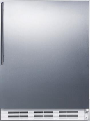 CT66JSSHVADA 24 inch  CT66JADA Series ADA Compliant  Medical Compact Refrigerator with 5.1 cu. ft. Capacity  Interior Light  Adjustable Thermostat  Clear Crisper