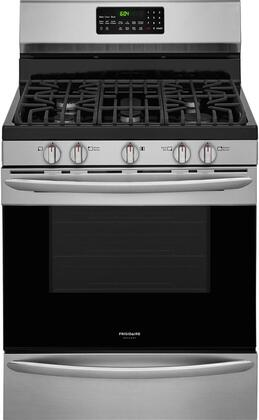 Frigidaire Gallery 5.0 Cu. Ft. Self-Cleaning Freestanding Gas Convection Range Stainless steel FGGF3059TF