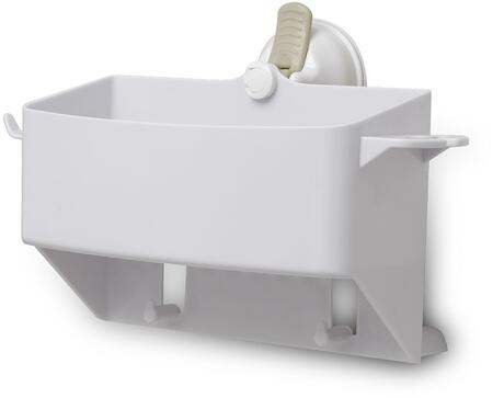 12221 TUB ORGANIZER Safe-er-Grip - Shower Caddy w/Razor Hook and Tooth Brush
