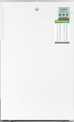 FS407LBIPLUS 20 inch  Upright Freezer with 2.8 cu. ft. Capacity  4 Pull-Out Storage Drawers  Reversible Door  Factory Installed Lock and Traceable Thermostat  in