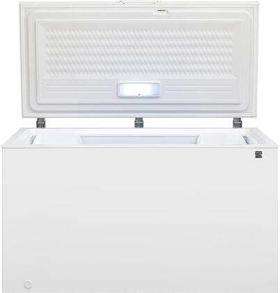 17512 56 Chest Freezer with 14.8 cu. ft. Capacity. Door Lock  LED Lighting  Two Storage Baskets and Power Indicator Light in
