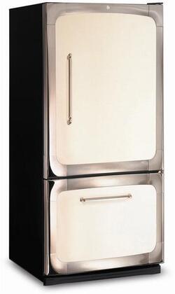 "3015-00R-IVY 30"" 18.5 cu. ft. Capacity Freestanding Bottom Freezer Refrigerator  Digital Temperature Control  Auto Defrost  Glass Shelves and Right Hinge Door"