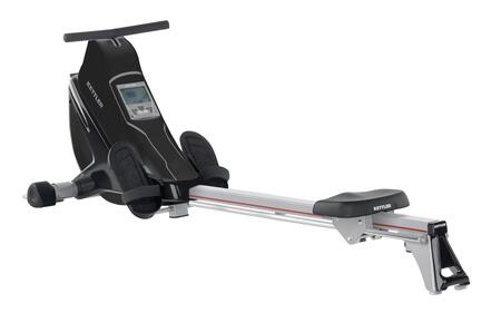 7975-160 Coach E Rower with SIEMENS Electronic LCD High Resolution Computer Display  Polar T34 Chest Strap Heart Rate Monitor and 12