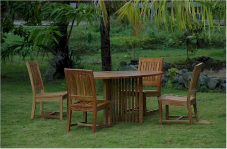 SET-110 5-Piece Dining Set with 51