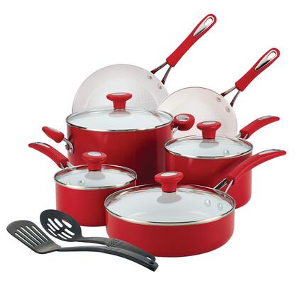 16047 12-Piece Cookware Set  Chili