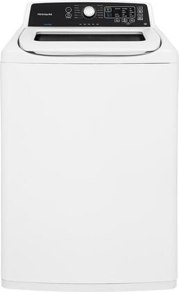 "FFTW4120SW 27"""" High Efficiency Top Load Washer with 4.1 cu. ft. Capacity  12 Wash Cycles  5 Soil Levels  Multiple Cycle Options  Stainless Steel Drum  and"" 744175"